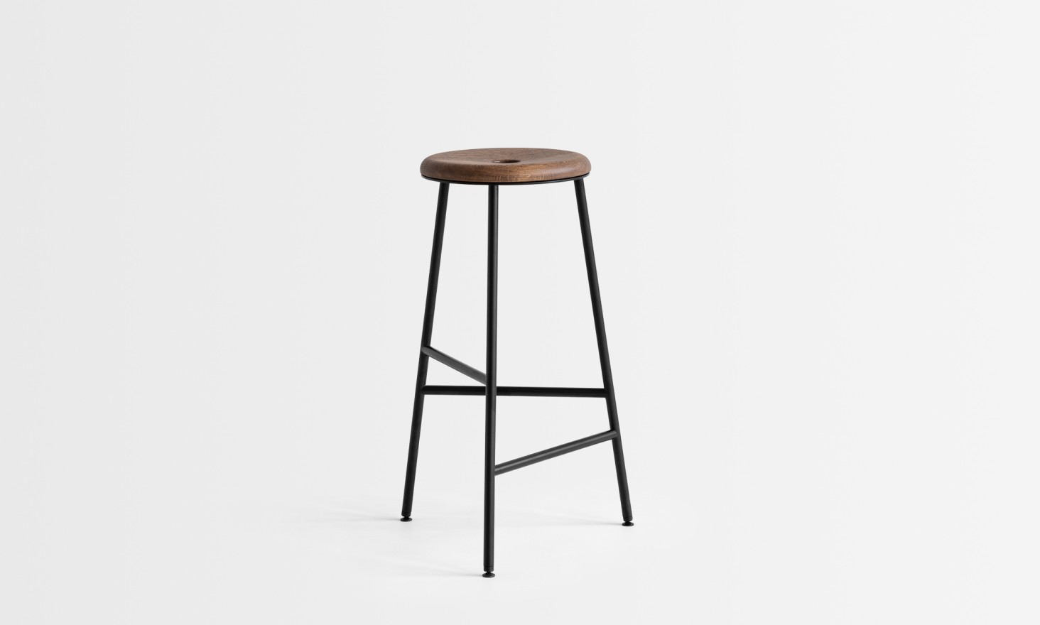 rotor black wooden seat